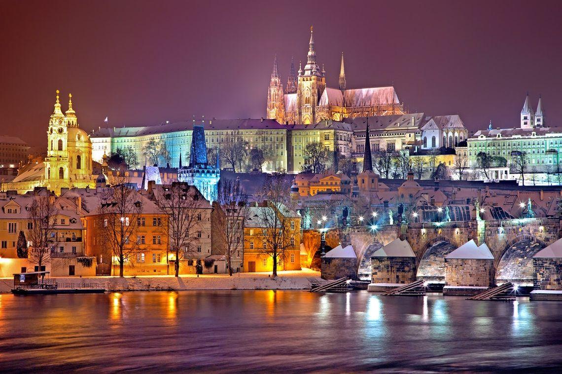 Прага ко Дню 8 Марта