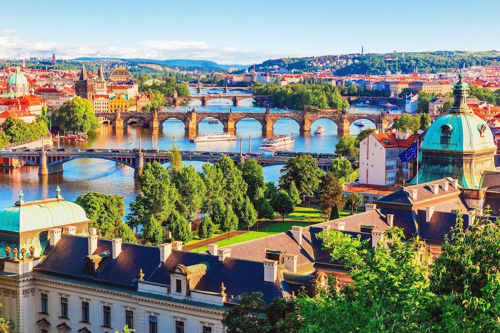 Прага,Чески Крумлов, Карловы Вары, Замок Мельник, 5 дней
