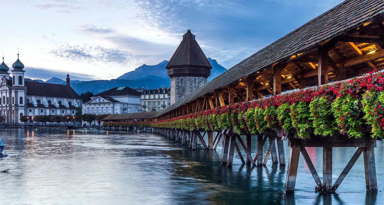 Знакомство со Швейцарией. Цюрих, Берн, Люцерн, Веве, Монтрё, Рейнский водопад, 4 дня