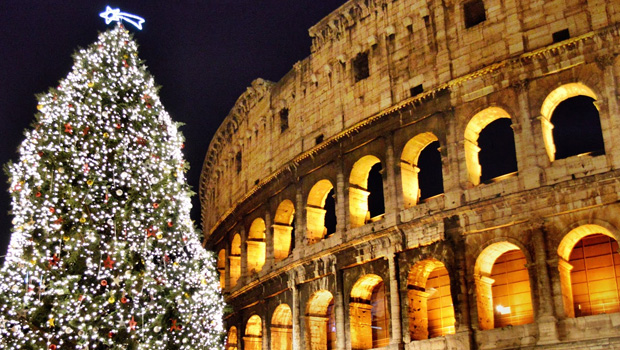 Новый год в Италии. Рим, Ватикан