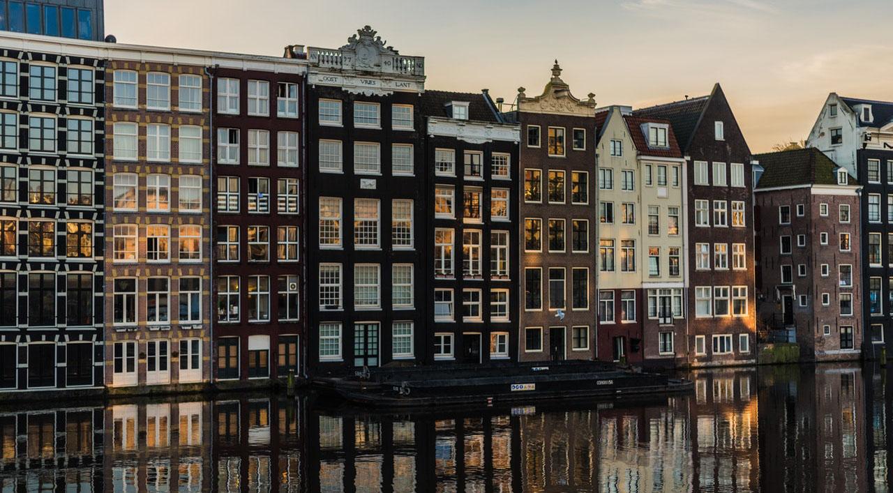 Амстердам, 1 день