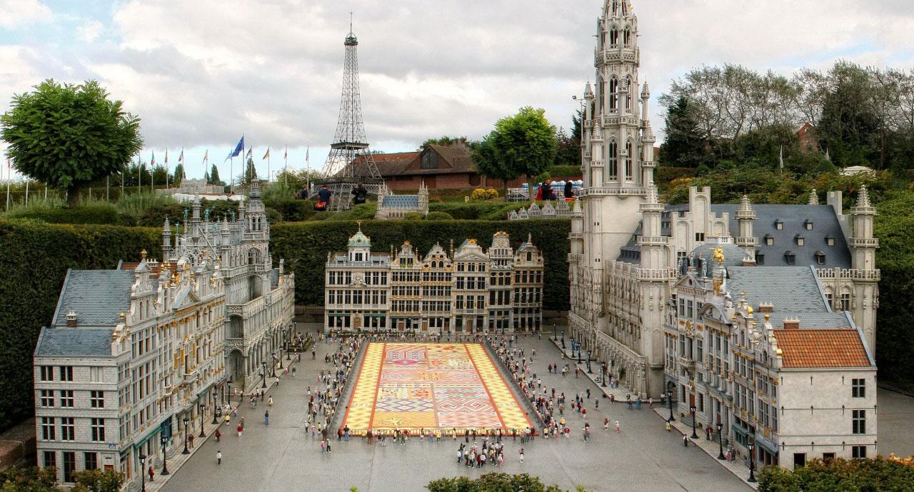 Брюссель. Мини Европа, 1 день