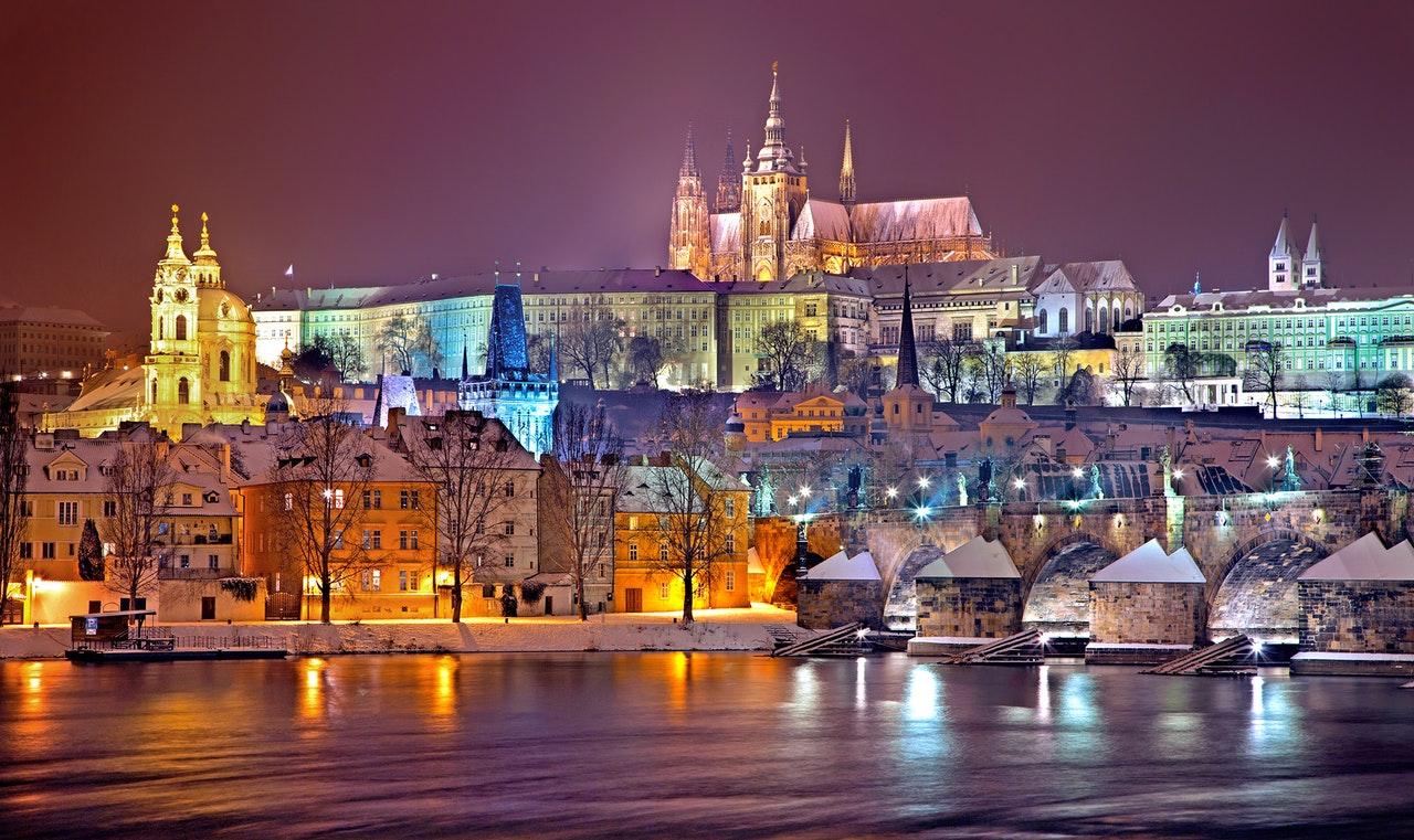 Новый Год в Чехии. Прага.  2 дня