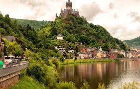 Две реки: Мозель и Рейн. Кохем, замок Райхсбурги знаменитый Немецкий Угол. 1 день