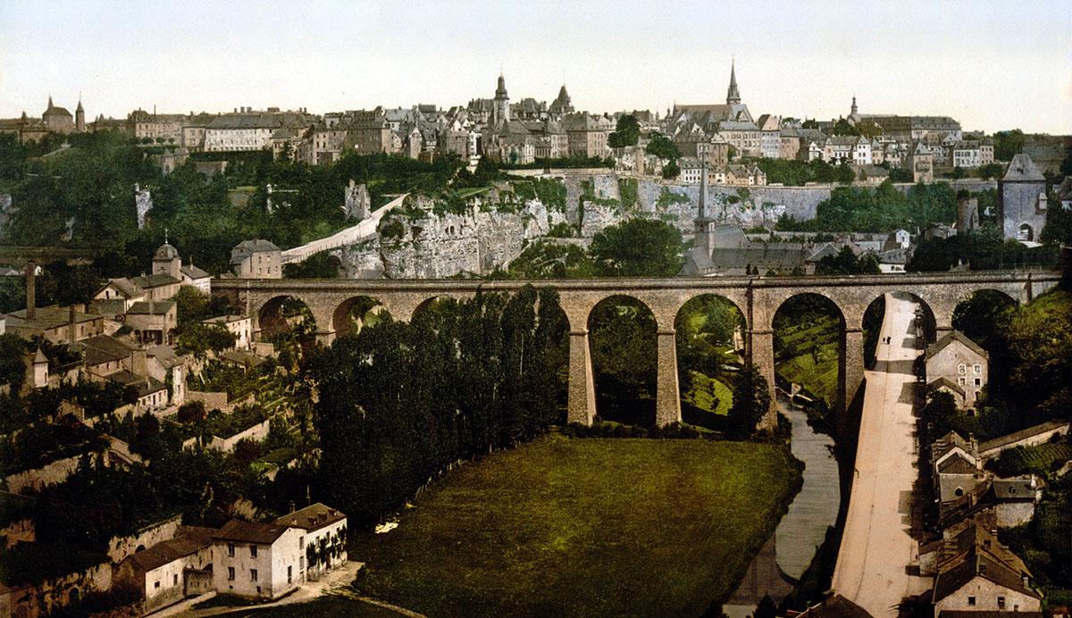 Люксембург. Балкон Европы, 1 день