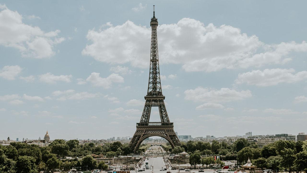 Париж. Вечерний выезд из регионов юга Германии