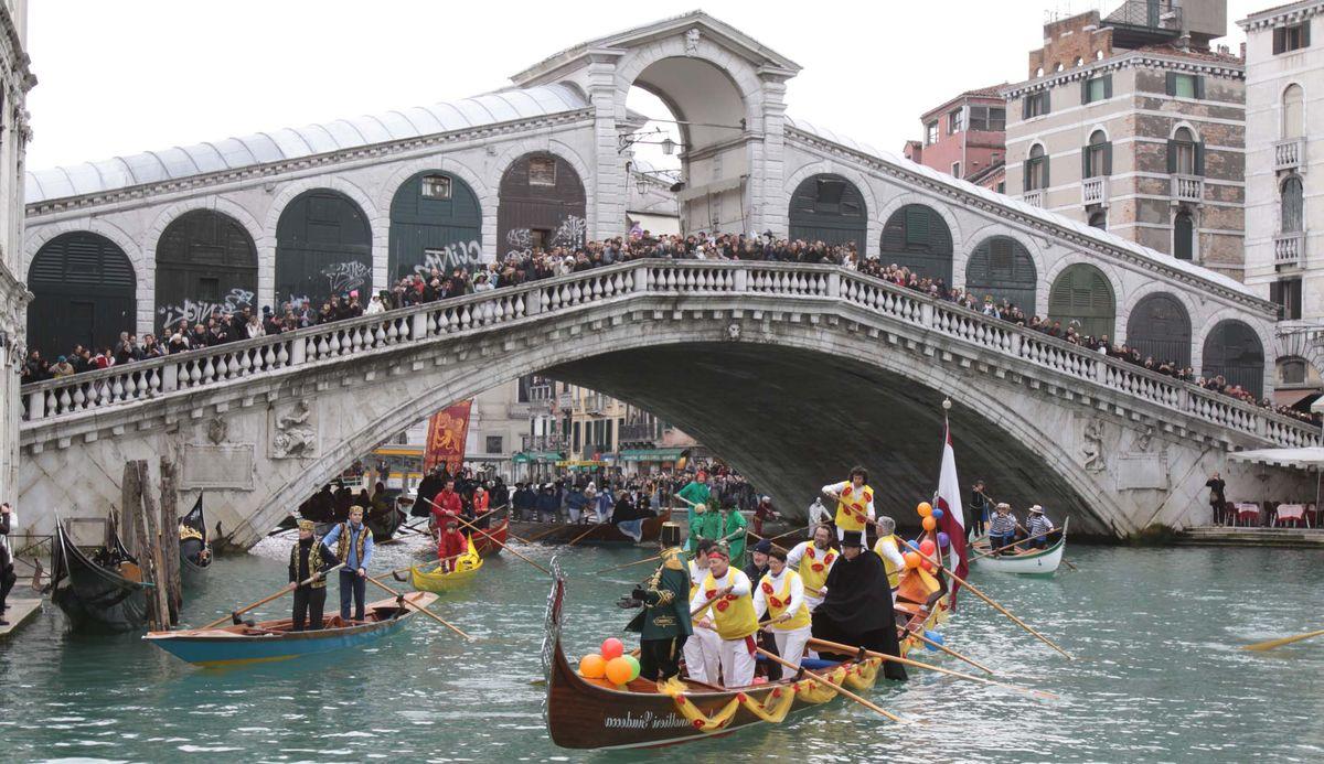 Карнавал в Венеции, 2 дня