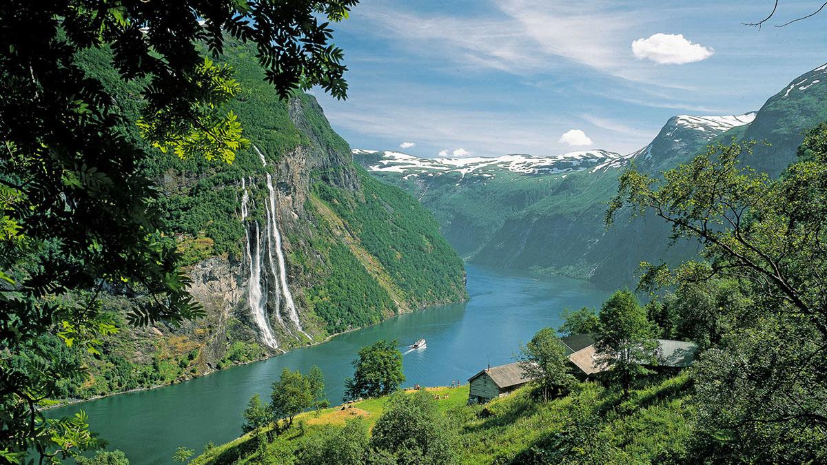 Скандинавия. Дания, Швеция, Норвегия, Финляндия. Фьорды, Аландские острова. 8 дней
