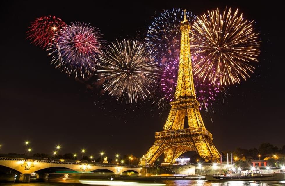 Новый год в Париже, 4 дня, веч. выезд