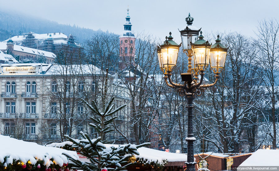 Новый Год в Баден-Баден, Шварцвальд, Страсбург